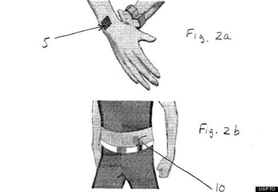 Nokia Vibrating Tattoo Patent