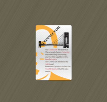 Design 3 - Nine Innovation Roles Card Deck