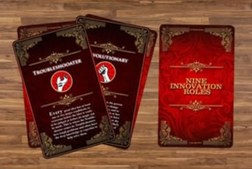 Design 8 - Nine Innovation Roles Card Deck
