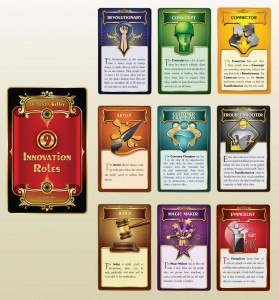 Design 4 - Nine Innovation Roles Card Deck