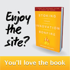 Get your copy of 'Stoking Your Innovation Bonfire'