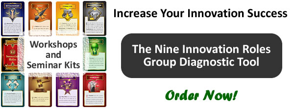 Book a Nine Innovation Roles Group Diagnostic Workshop