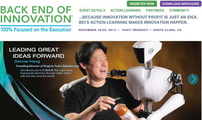 Join Me in Silicon Valley at Back End of Innovation