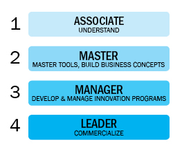 Four Innovation Certification Levels