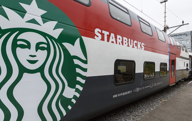 Starbucks Train Making Connections with Customers