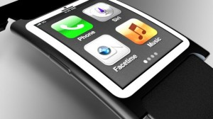 iWatch Concept with Health Sensors