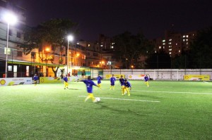 Shell Kinetic Soccer Field in Brazil