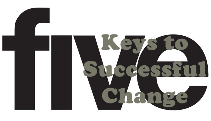 The Five Keys to Successful Change | Innovation, Change