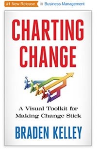 Charting Change Number One New Release on Amazon