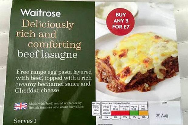 Waitrose Lasagne