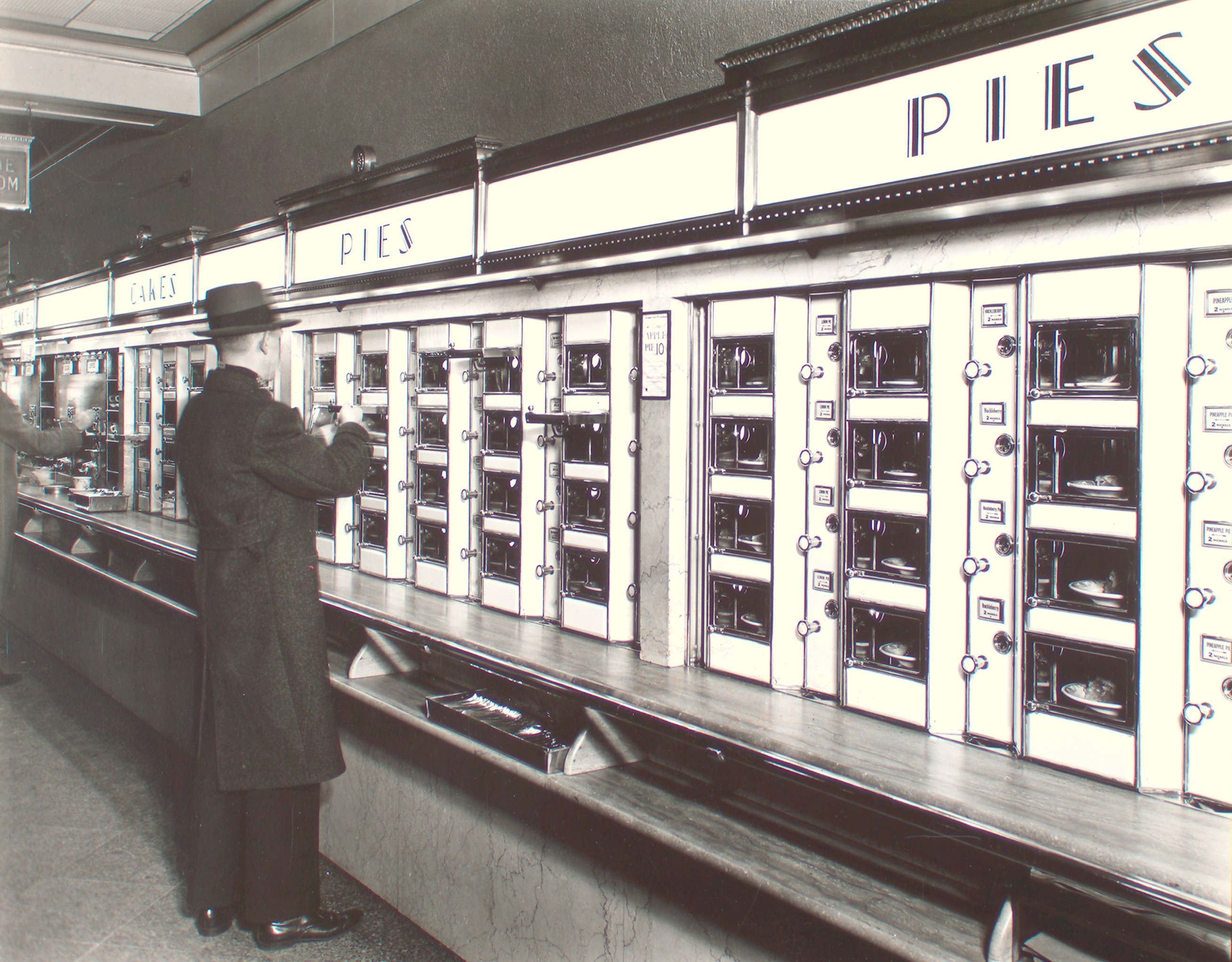 Food Locker Automat 1936