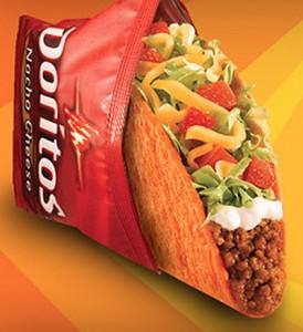 Food Innovation Sighting - Doritos Tacos