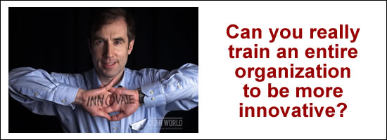 Innovation Training for your whole organization from Braden Kelley