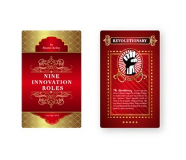 Design 2 - Nine Innovation Roles Card Deck