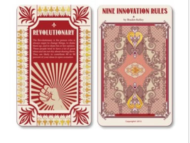 Design 7 - Nine Innovation Roles Card Deck