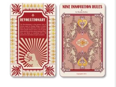 Design 7 - Nine Innovation Roles Card Deck
