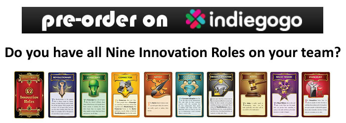 Pre-Order Nine Innovation Roles Card Decks
