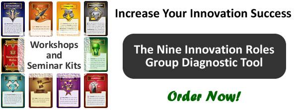 Book a Nine Innovation Roles Group Diagnostic Workshop
