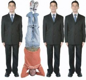 Pull Marketing - Upside Down Social Web Design