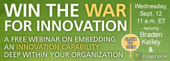 Register for the Winning the War for Innovation Webinar