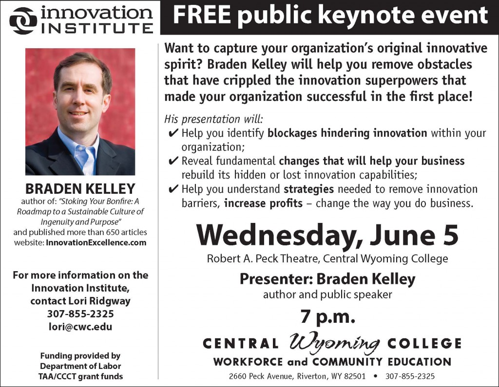 Riverton Innovation Keynote Ad