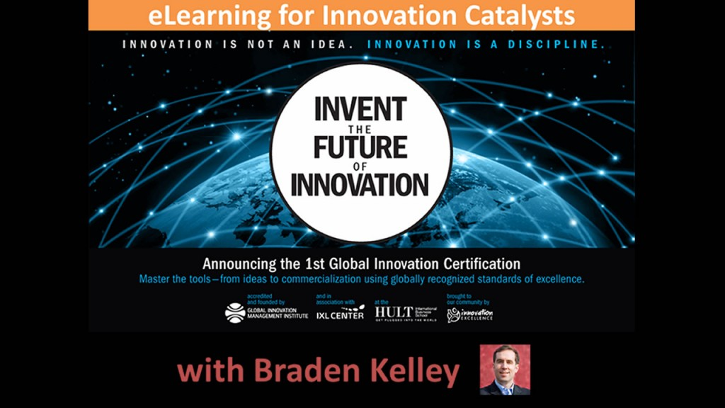 Announcing FREE eLearning for Global Innovation Certification BETA