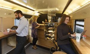Starbucks Train Customers