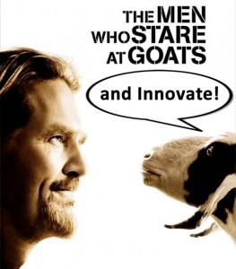 Innovating by Staring at Goats