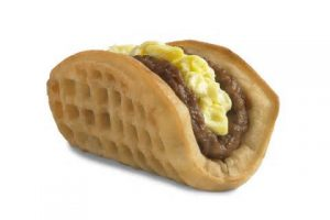 Food Innovation Sighting - Waffle Taco