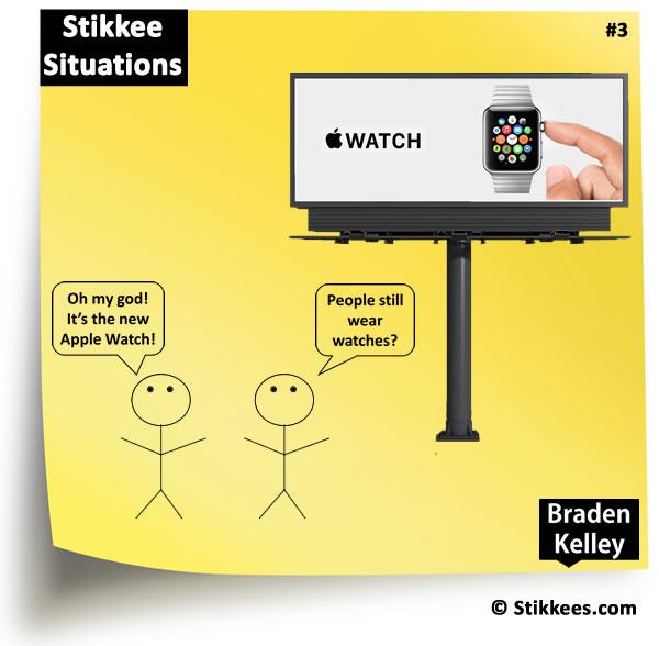 Stikkee 3 - Apple Watch