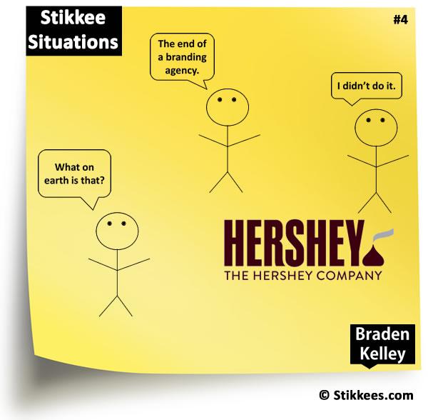 Stikkee Number 4 - New Hershey Logo