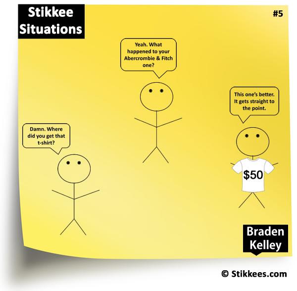 Stikkee 50 Dollar T-shirt