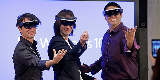 Microsoft Stomps on Google Glass