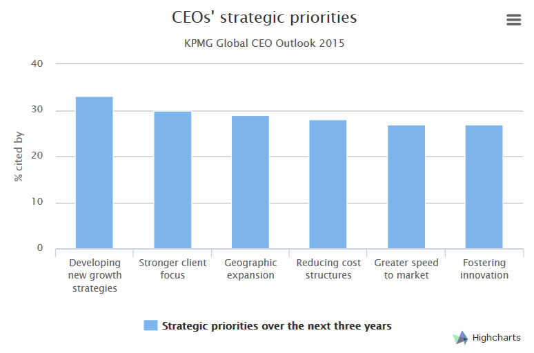 Is Innovation a Priority for CEOs?