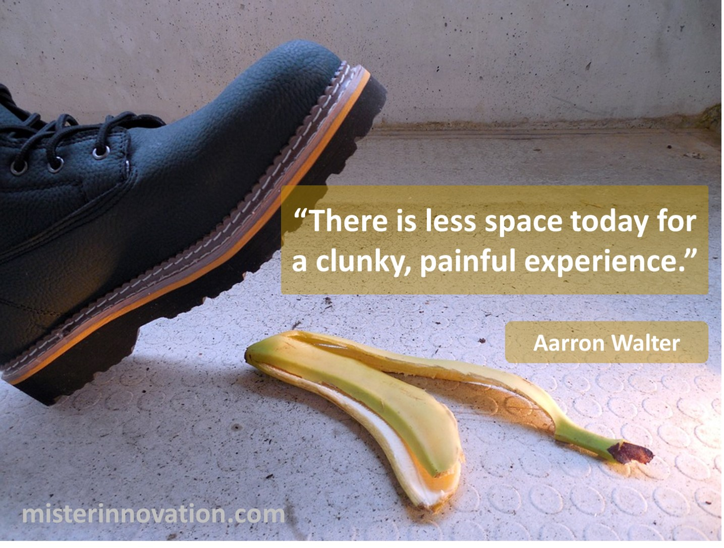 Aaron Walter quote about painful experiences