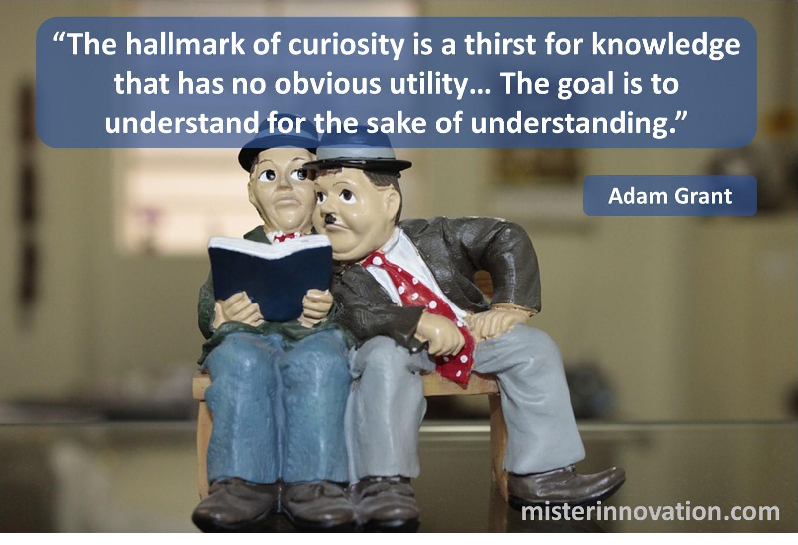 Adam Grant Curiosity