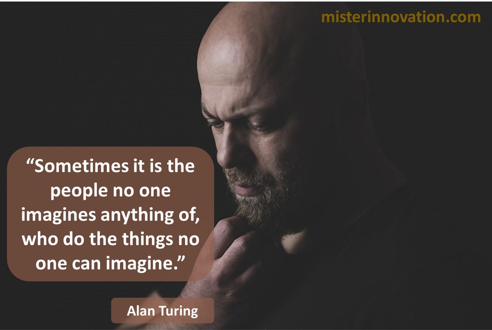 Alan Turing Imagine