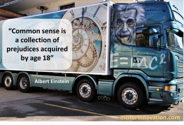 Common Sense Quote from Albert Einstein