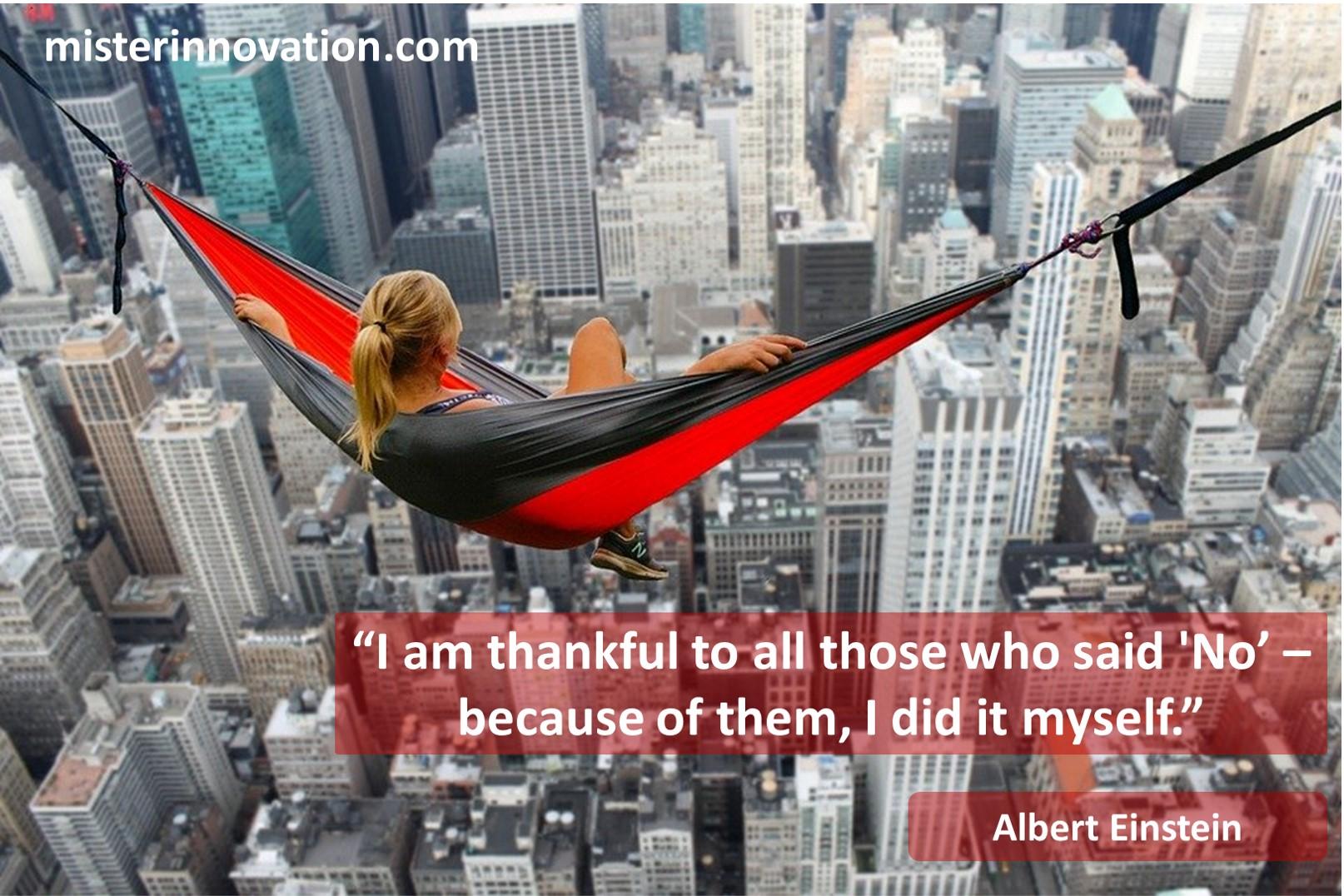 Albert Einstein No Quote