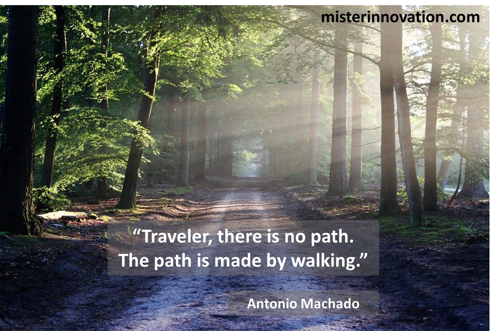 Antonio Machado Path Making Alt Version