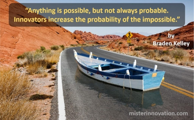 Anything is Possible Quote from Braden Kelley