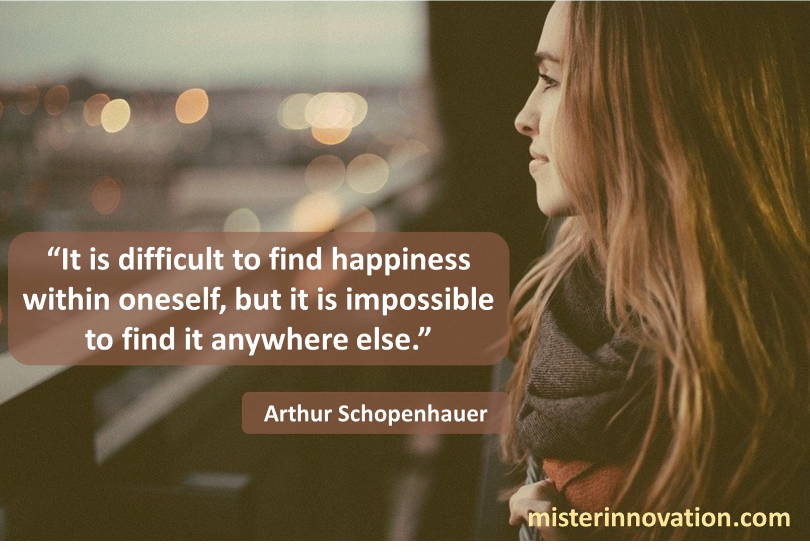 Arthur Schopenhauer Happiness