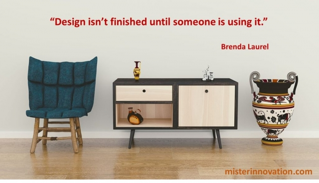 Brenda Laurel Quote on Finished Design in Use
