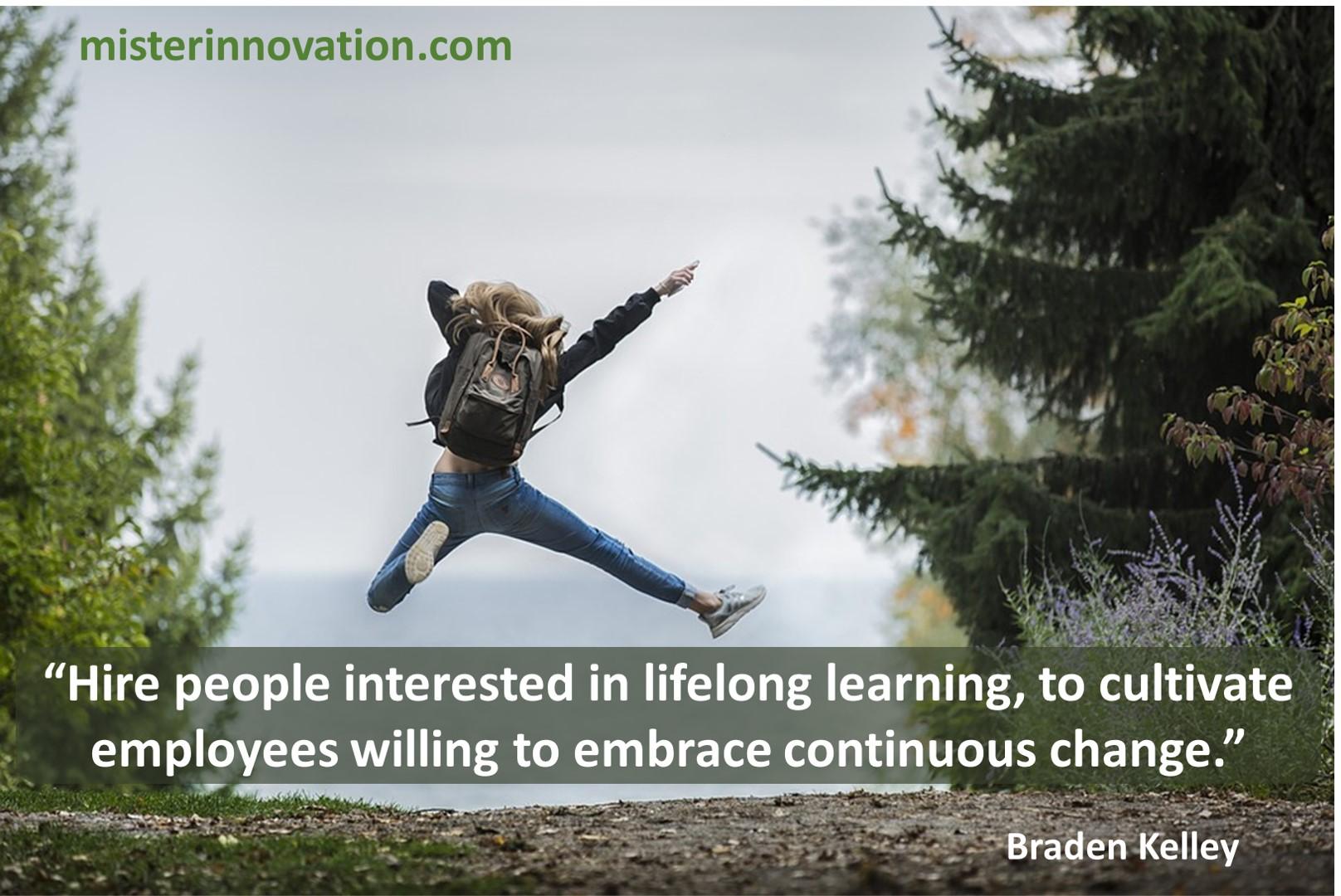 Change Lifelong Learning