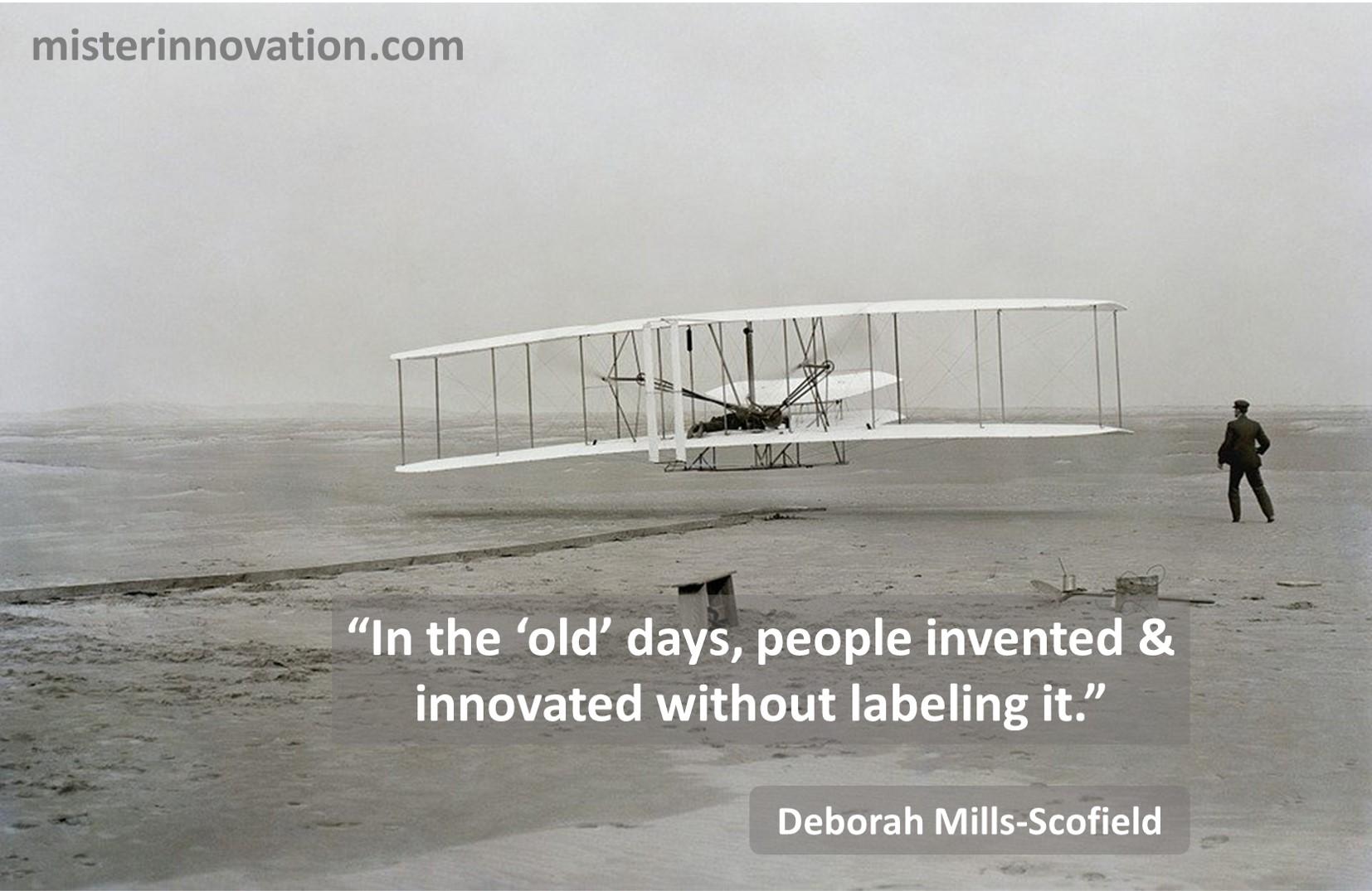 Deborah Mills Scofield Innovation Invention