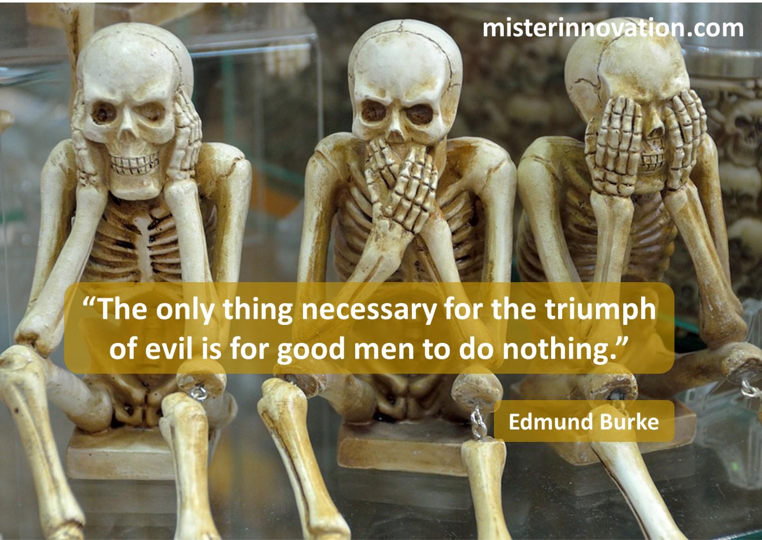 Edmund Burke Evil