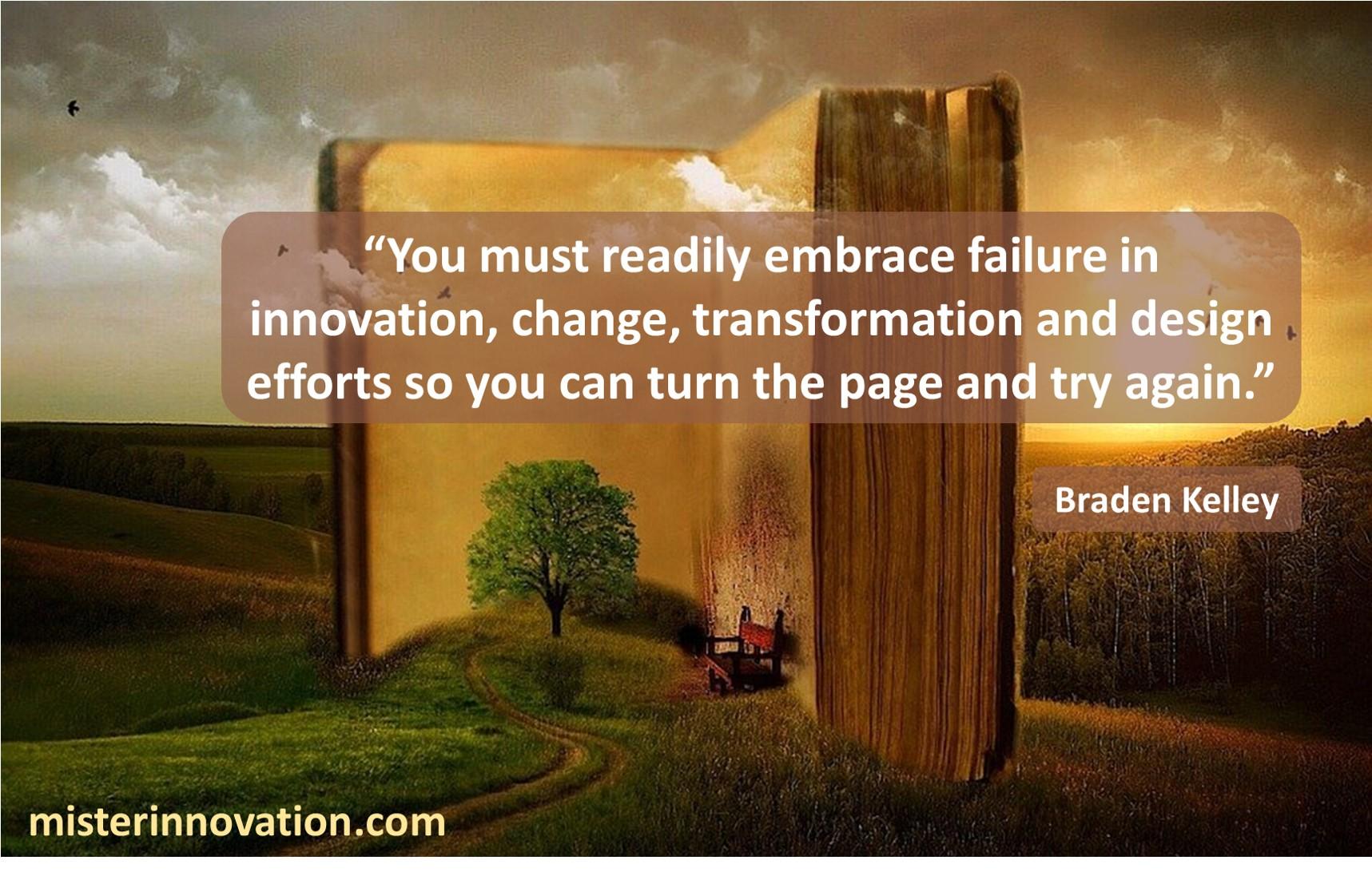 Embrace Failure