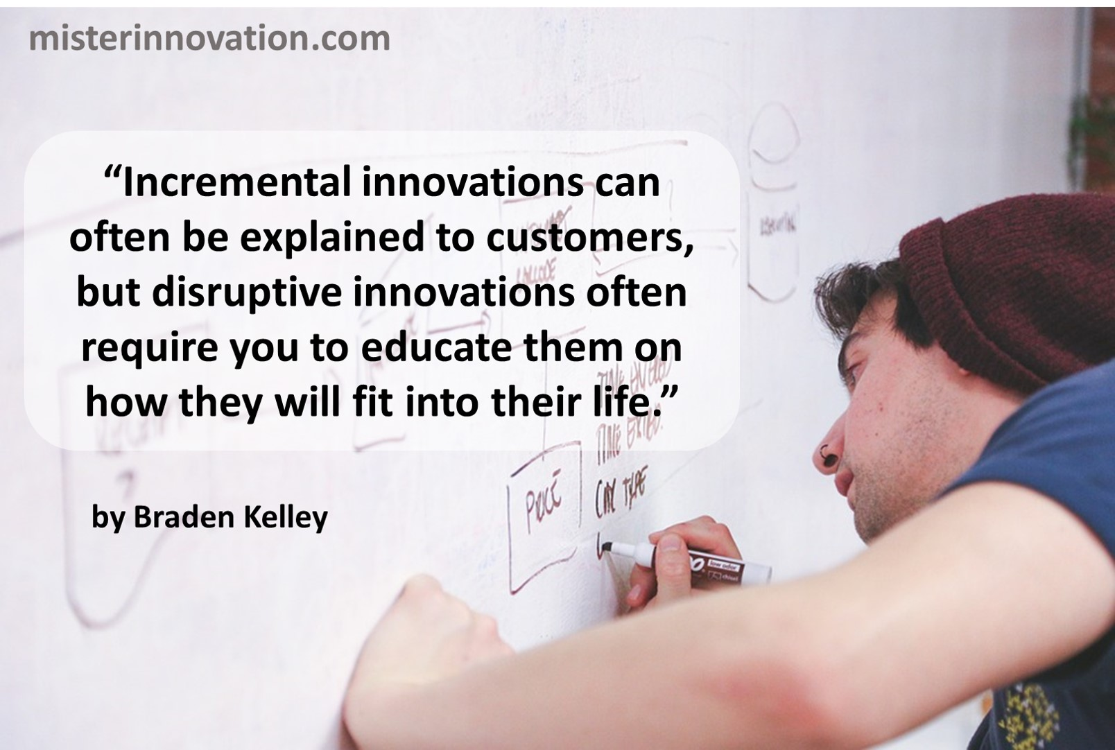 Quote on Explaining Innovations from Braden Kelley
