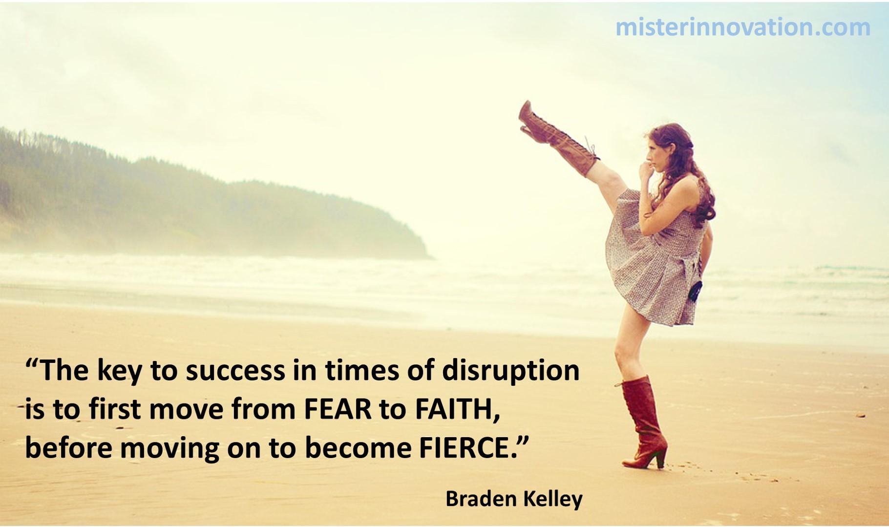 Fear Faith Fierce
