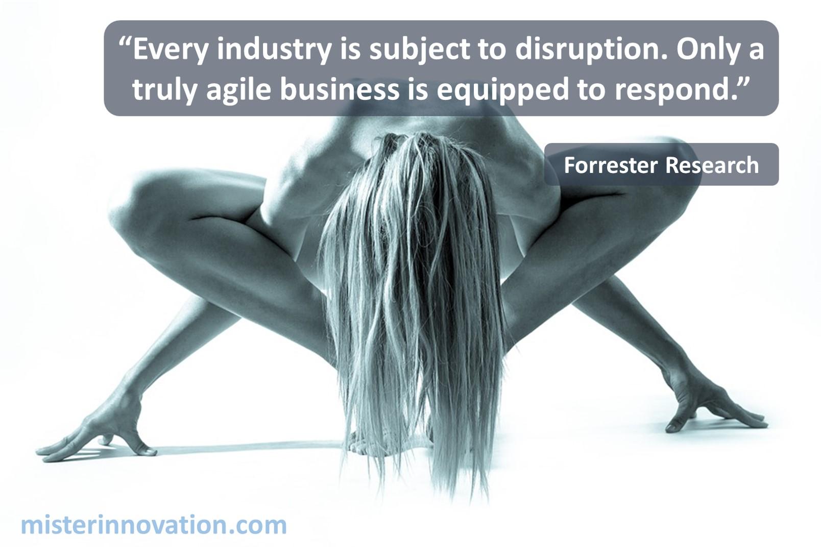 Forrester Agile Disruption